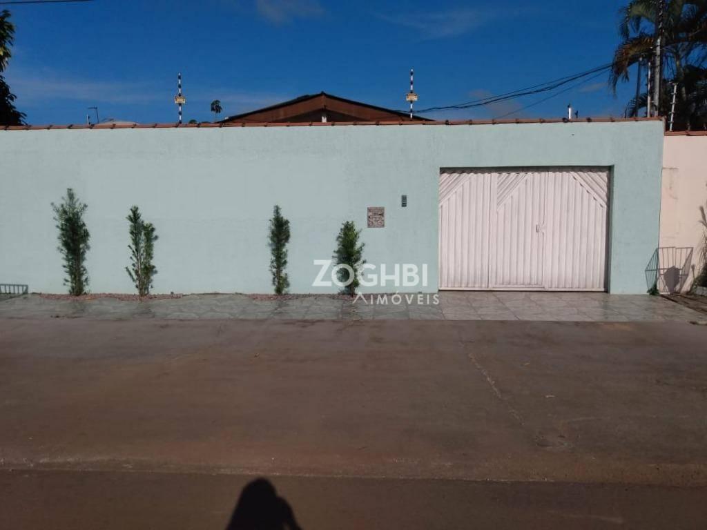 Casa com 4 dormitórios para alugar, 180 m² por R$ 2.200/mês - São Cristóvão - Porto Velho/Rondônia