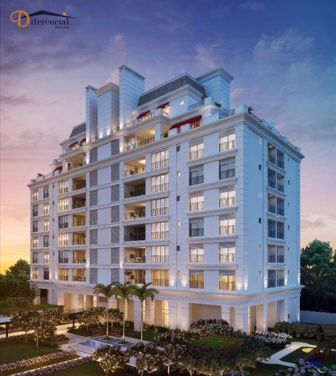 Apartamento Duplex à venda, 171 m² por R$ 1.587.215,93 - Juvevê - Curitiba/PR