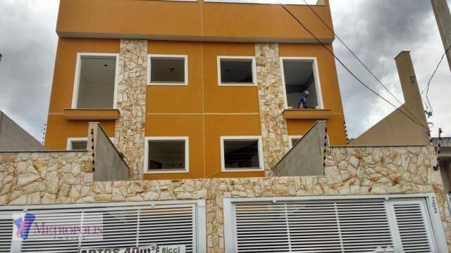 Apartamento residencial à venda, Jardim Alvorada, Santo Andr