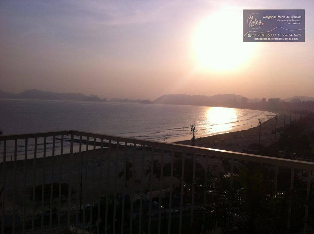 Cobertura, vista ao mar panoramica, na orla da Ponta da Praia