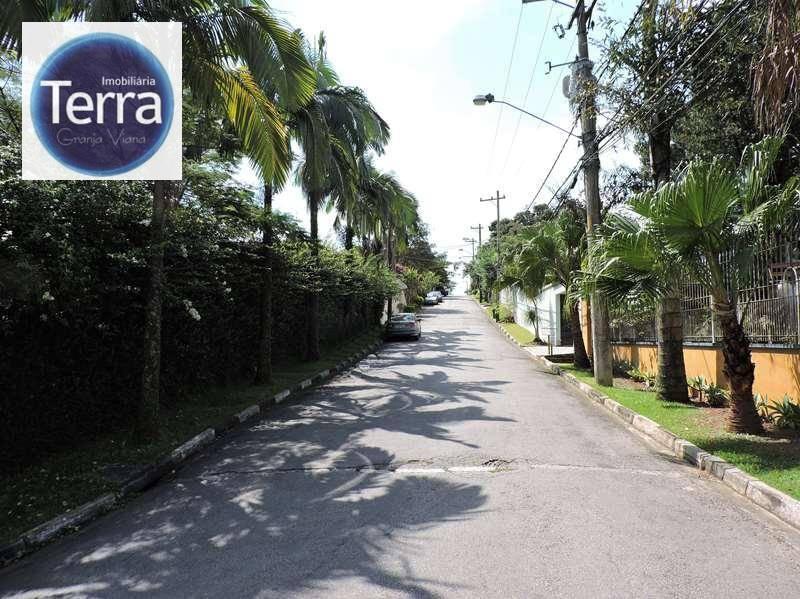 Terreno residencial à venda, Chácara dos Lagos, Granja Viana.