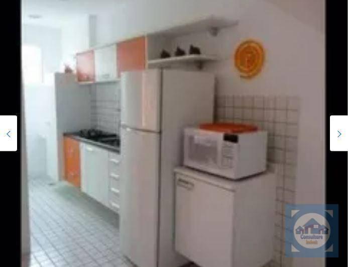 Flat com 1 dormitório à venda, 80 m² por R$ 583.000 - Gonzaga - Santos/SP