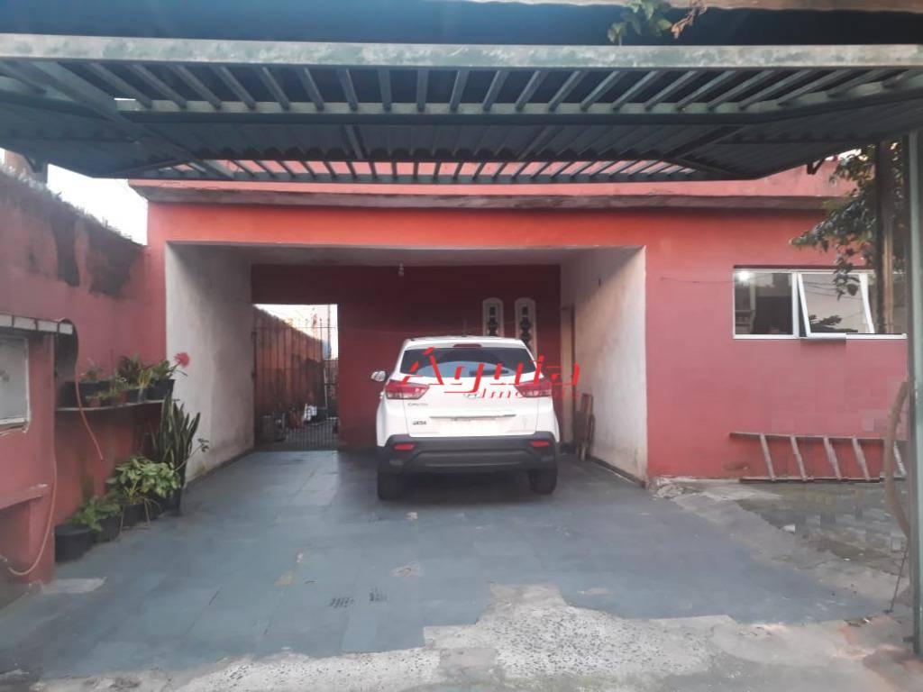 Casa com 4 dormitórios à venda, 200 m² por R$ 550.000 - Vila Eldízia - Santo André/SP