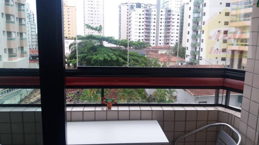 Apartamento à venda, 54 m² por R$ 190.000,00 - Aviação - Praia Grande/SP