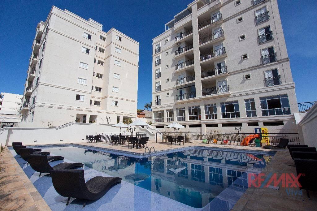 Apartamento com 3 dormitórios à venda, 86 m² por R$ 452.000,00 - Vila Giglio - Atibaia/SP