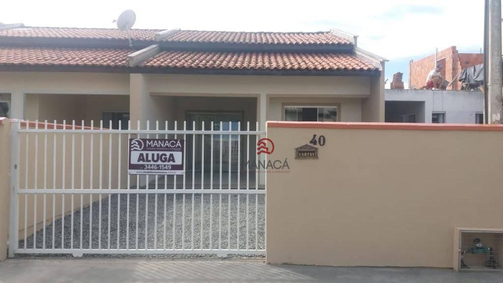 Casa com 2 dormitórios para alugar, 65 m² por R$ 850/mês - Jardim Icaraí - Barra Velha/SC