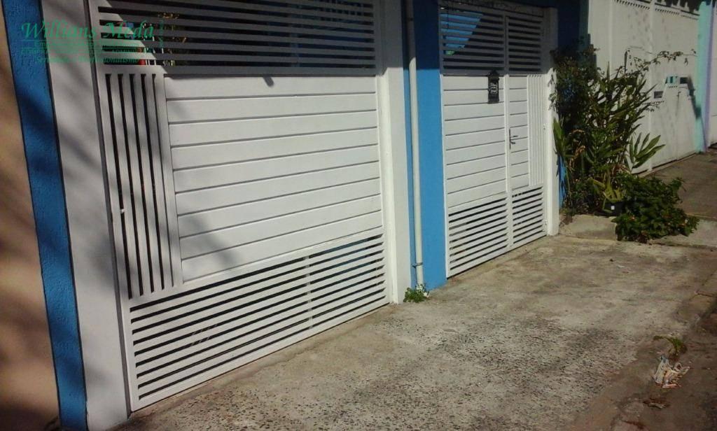 Casa residencial à venda, 2 dormitórios, 2 vaga. Vila Rosália, Guarulhos.
