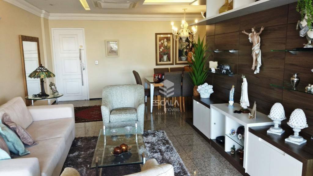 Apartamento com 4 quartos à venda, 148 m², 3 vagas, móveis projetados - Aldeota - Fortaleza/CE
