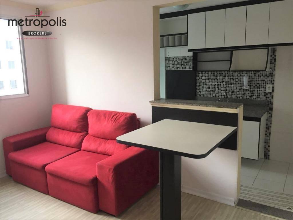Apartamento com 2 dormitórios à venda, 48 m² por R$ 195.000,00 - Parque São Vicente - Mauá/SP