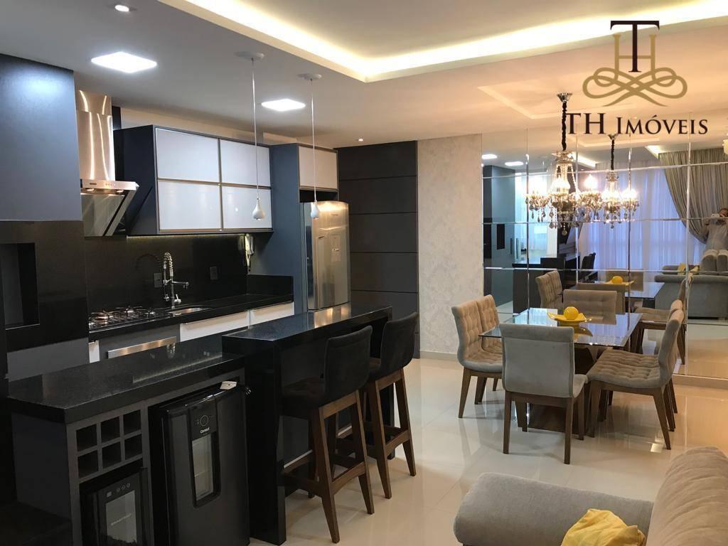 Lindo apartamento mobiliado e decorado, 01 suíte + 01 dormitório, garagem privativa, no Residencial Vila do bosque   R$ 450.000,00 !