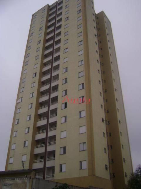 Apartamento residencial à venda, Vila Alto de Santo André, Santo André - AP0196.