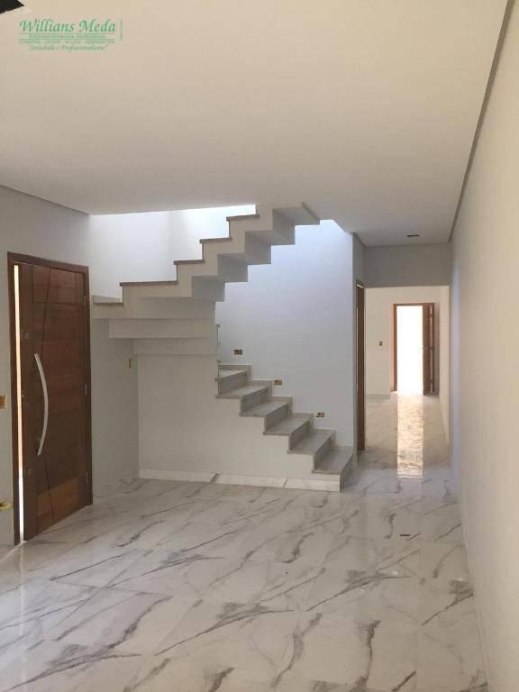 Sobrado com 3 dormitórios à venda, 150 m² por R$ 725.000 - Vila Augusta - Guarulhos/SP