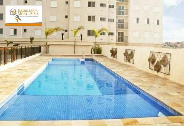 Apartamento Mobiliado com 2 dormitórios, 45 m² - Jardim Las Vegas - Guarulhos/SP