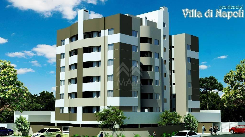 Apartamento residencial à venda, Pineville, Pinhais - AP2097
