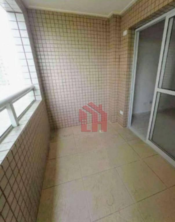 Apartamento com 2 dormitórios à venda, 55 m² por R$ 390.000,00 - Ocian - Praia Grande/SP