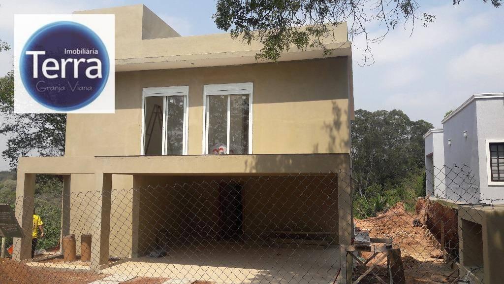 Casa residencial à venda, Chácara das Paineiras, Granja Viana.