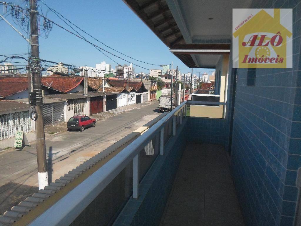 Sobrado residencial à venda, Vila Mirim, Praia Grande.