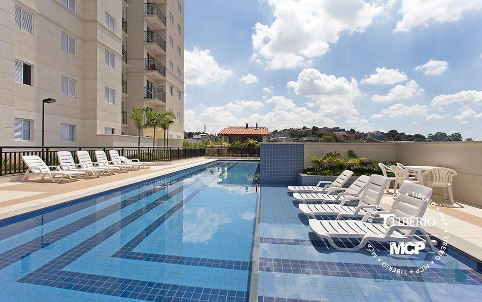 Apartamento à venda, 63 m² por R$ 357.000,00 - Centro - Diadema/SP