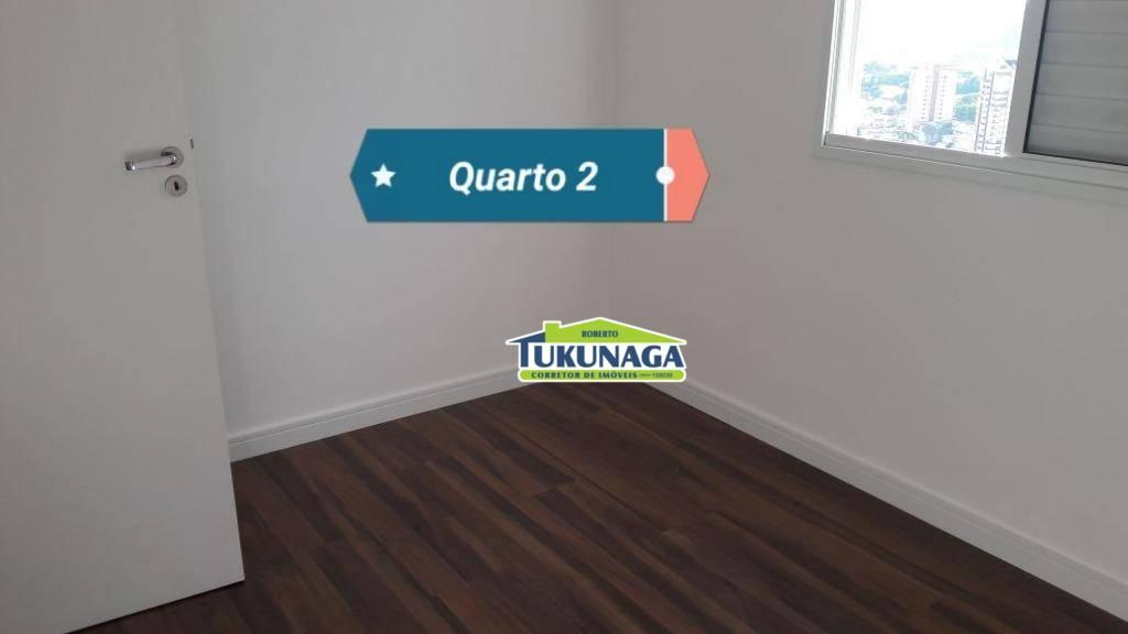 Apartamento com 2 dormitórios à venda, 60 m² por R$ 315.000,00 - Jardim Imperador - Guarulhos/SP