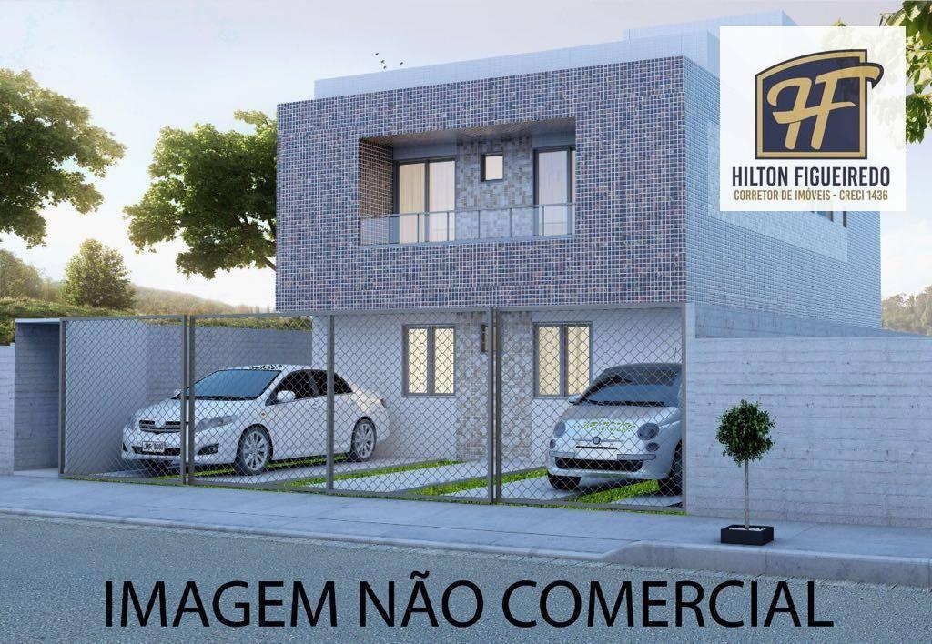 Apartamento residencial à venda, Castelo Branco, João Pessoa.
