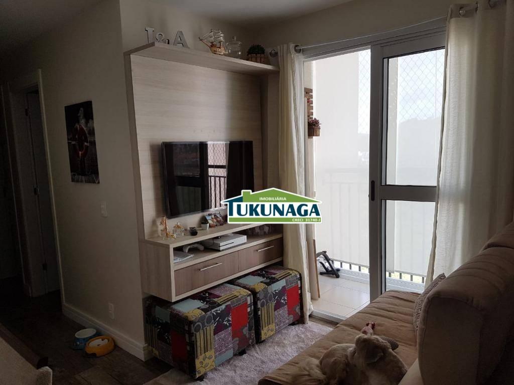 Apartamento com 3 dormitórios à venda, 57 m² por R$ 330.000 - Vila Rio de Janeiro - Guarulhos/SP