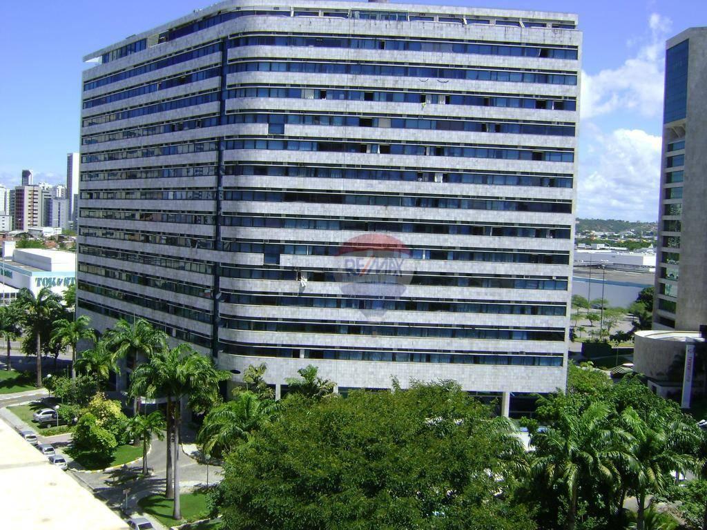 Flat ao lado do shopping recife à venda, 48 m² por R$ 340.000 - Boa Viagem - Recife/PE