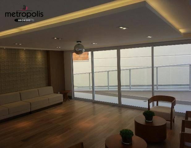 Apartamento à venda, 89 m² por R$ 500.000,00 - Campestre - Santo André/SP