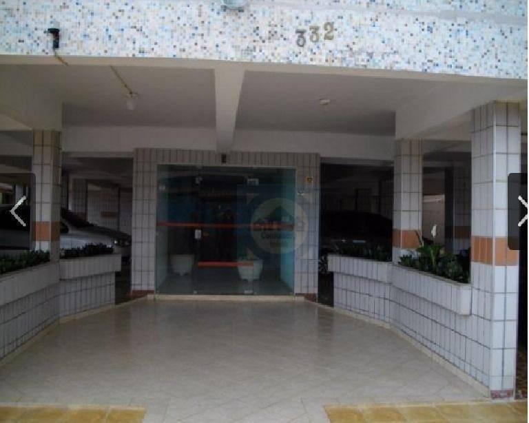 Kitnet residencial à venda, Jardim Imperador, Praia Grande.
