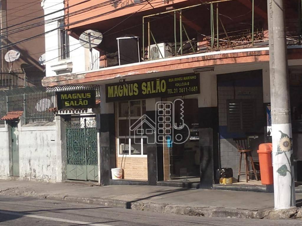 Loja à venda, 56 m² por R$ 315.000,00 - Icaraí - Niterói/RJ