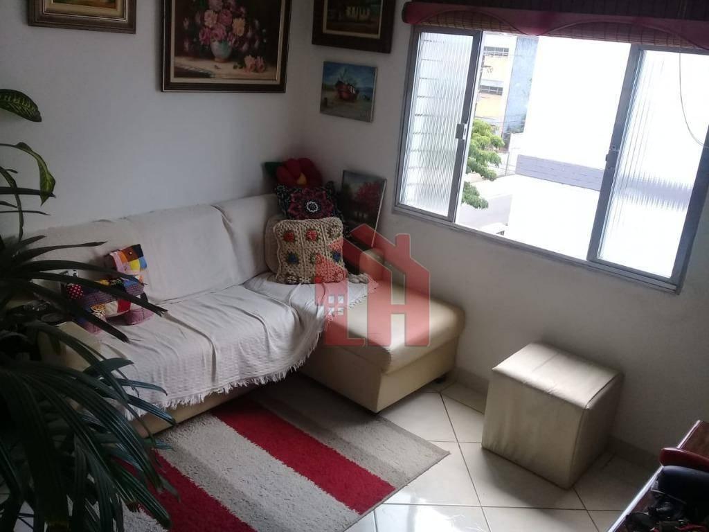 Apartamento com 2 dormitórios à venda, 48 m² por R$ 224.000,00 - Aparecida - Santos/SP