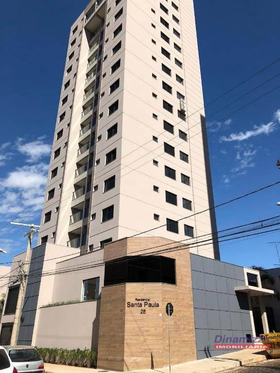Apartamento com 2 dormitórios para alugar, 76 m² por R$ 1.200,00/mês - Mercês - Uberaba/MG