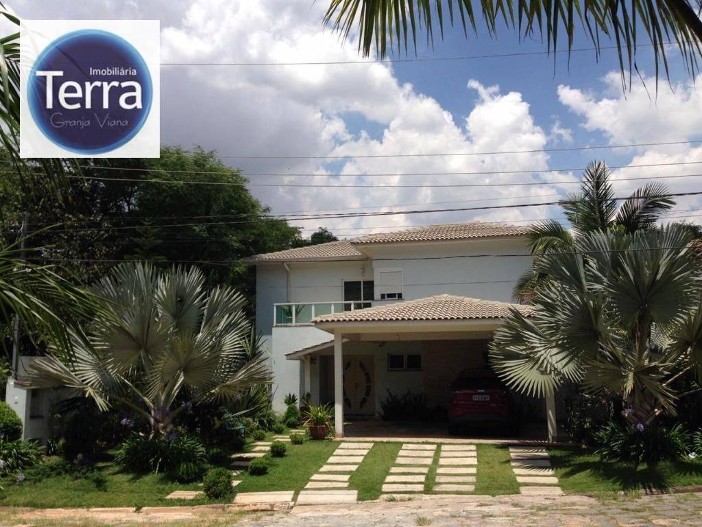 Casa com 4 dormitórios à venda, 383 m² por R$ 1.750.000 - Vila Appia Antica - Granja Viana