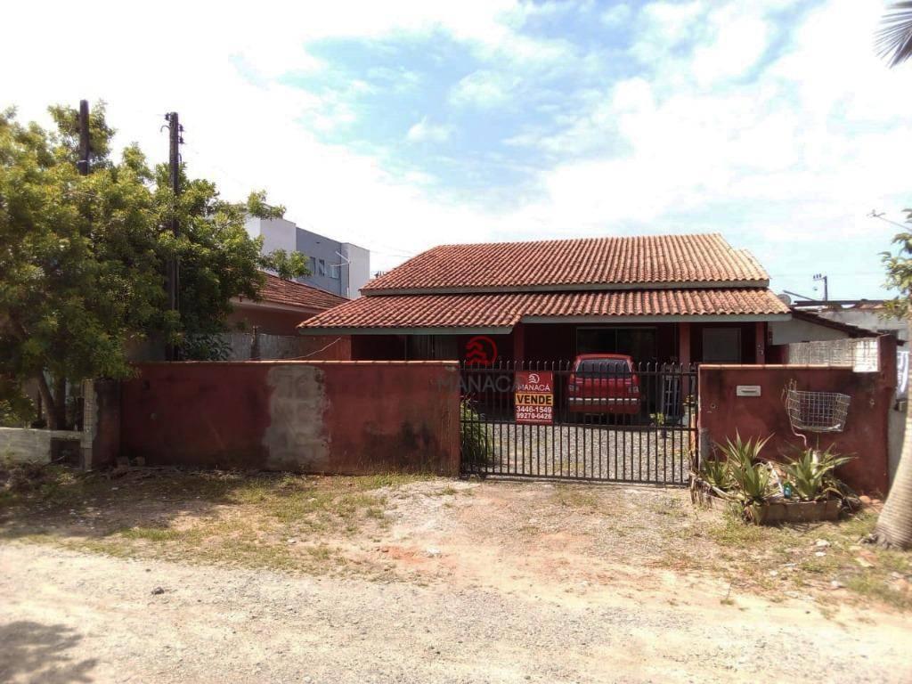 Casa com 2 dormitórios para alugar, 92 m² por R$ 954/mês - São Cristóvão - Barra Velha/SC