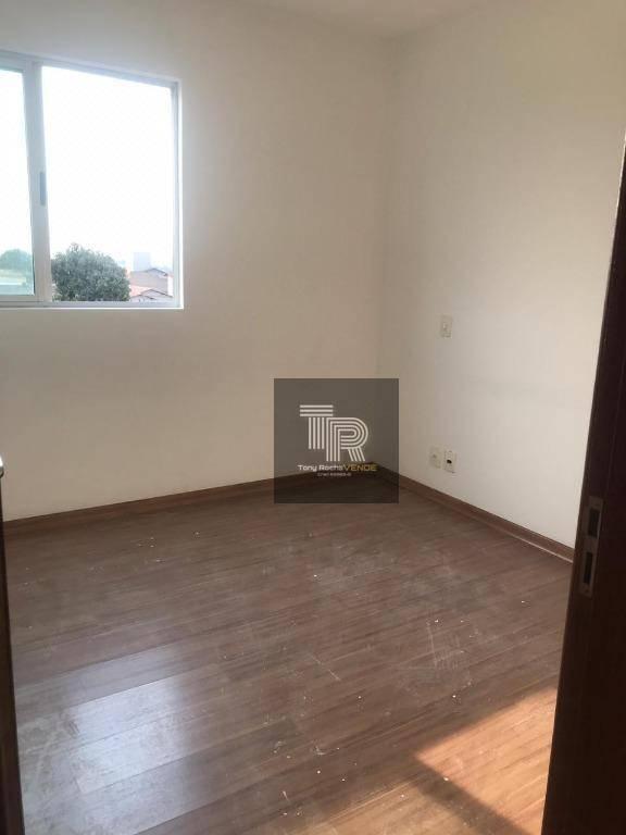 Apartamento com 3 dormitórios à venda, 95 m² por R$ 345.000 - Filadélfia - Betim/MG