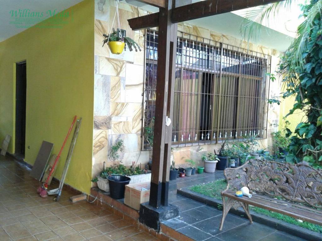 Sobrado residencial à venda, Jardim Santa Cecília, Guarulhos.