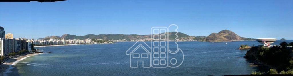 Apartamento com 2 dormitórios para alugar, 90 m² por R$ 3.700,00/mês - Ingá - Niterói/RJ