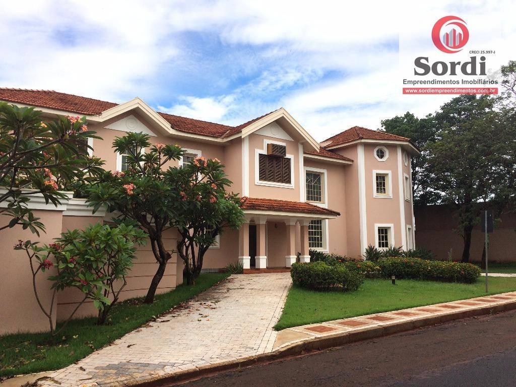 Sobrado com 4 dormitórios à venda, 614 m² por R$ 2.500.000 - Bonfim Paulista - Ribeirão Preto/SP