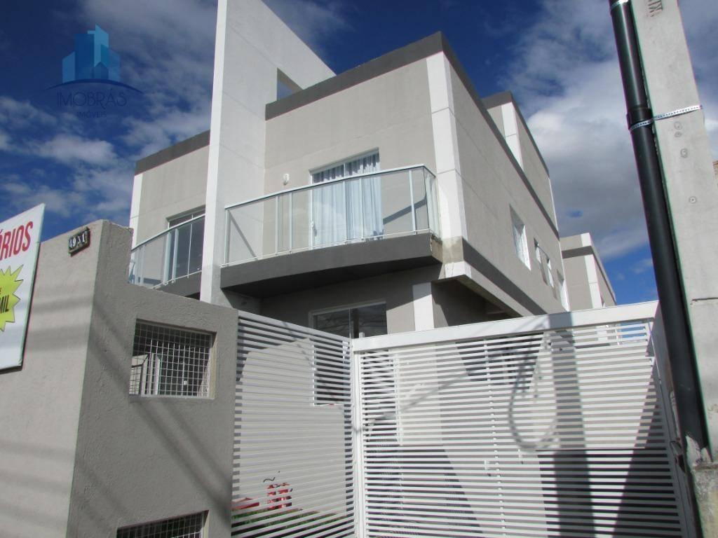 Apartamento com 2 dormitórios à venda, 47 m² por R$ 190.000 - Xaxim - Curitiba/PR