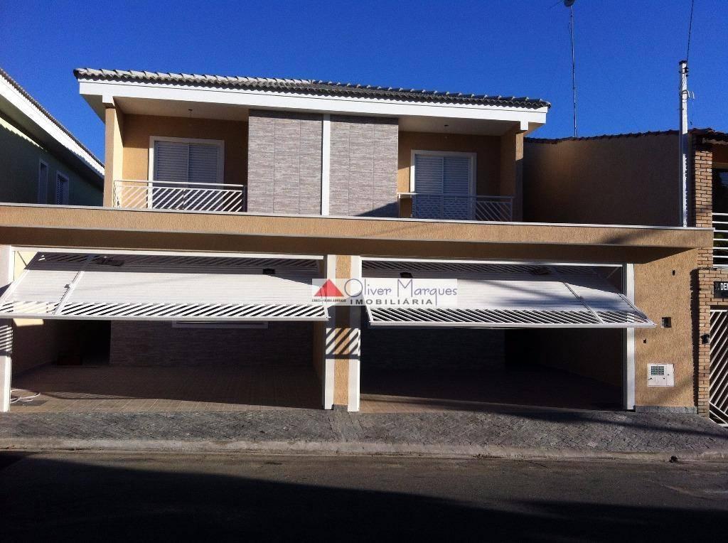 Sobrado residencial à venda, Jardim D Abril, Osasco.