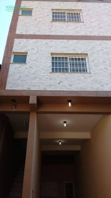 Apartamento residencial para locação, Jardim Munhoz, Guarulh