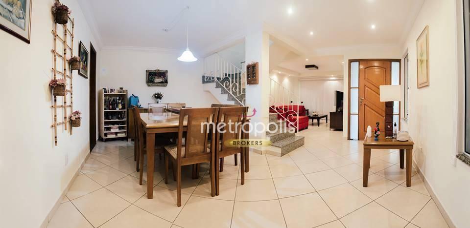 Sobrado com 4 dormitórios à venda, 199 m² por R$ 1.100.000 - Santa Maria - São Caetano do Sul/SP