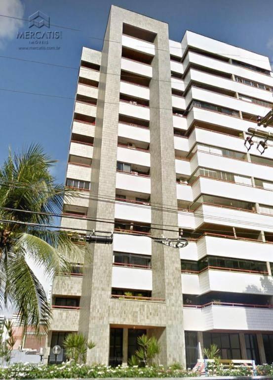 Apartamento com 4 dormitórios à venda, 240 m² por R$ 980.000 - Meireles - Fortaleza/CE
