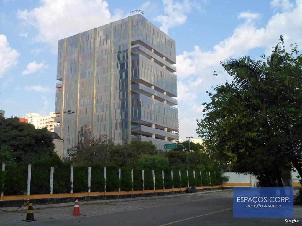 Laje corporativa para locação, Vila Olímpia, São Paulo - CJ0956.