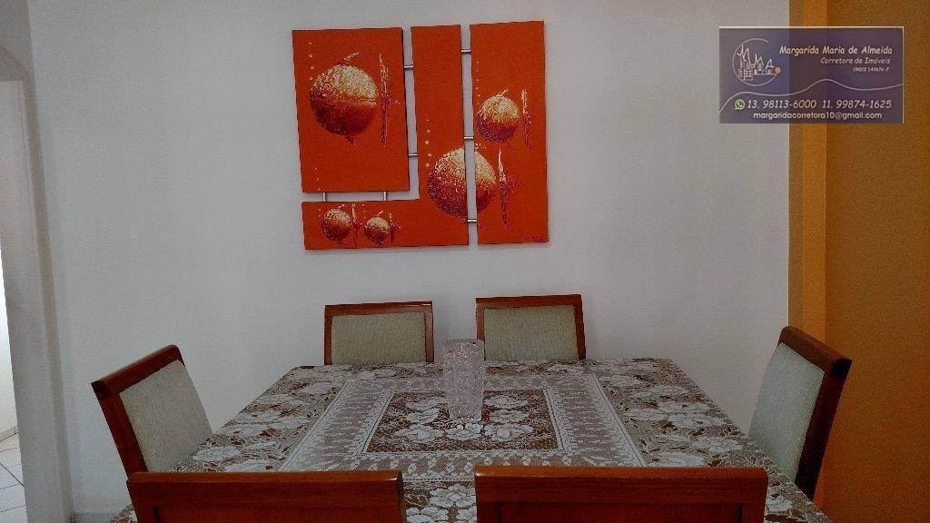 Permuta ou Venda Apartamento reformado 03 dormitórios Ponta Praia, Santos(SP).