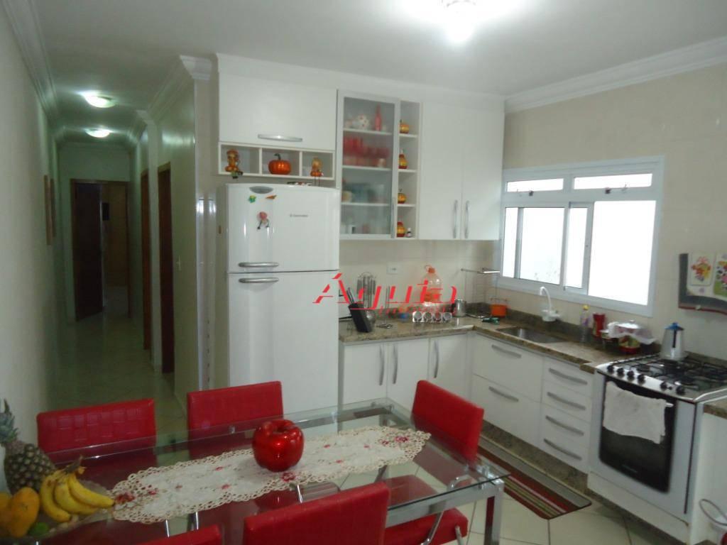 Casa com 2 dormitórios à venda, 206 m² por R$ 430.000 - Jardim Santo Alberto - Santo André/SP