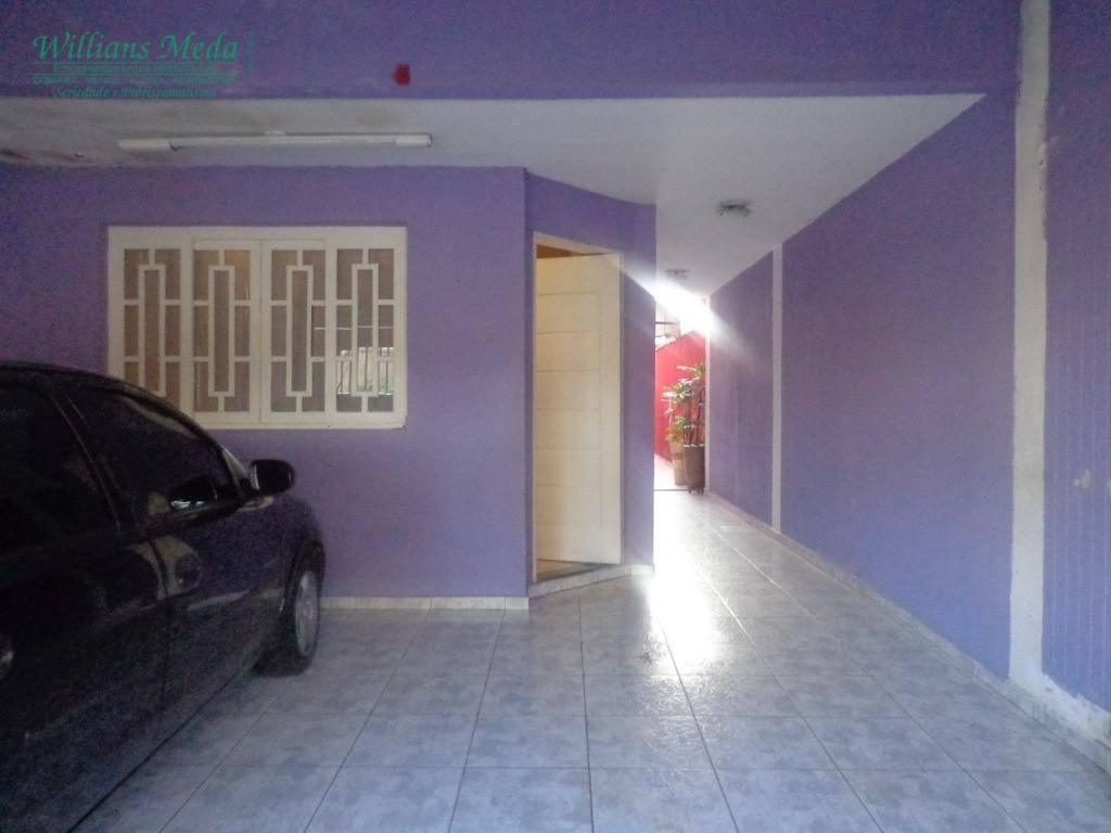 Sobrado com 3 dormitórios à venda, 136 m² por R$ 580.000 - Jardim Santa Clara - Guarulhos/SP