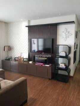 Apartamento com 3 dormitórios à venda, 118 m² por R$ 830.000,00 - Santa Paula - São Caetano do Sul/SP