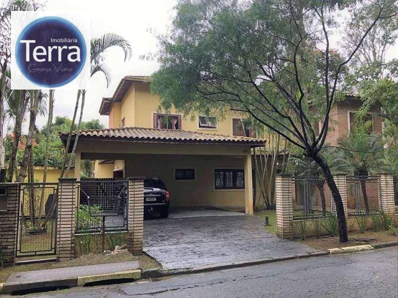 Casa com 6 dormitórios à venda, 430 m²  - Recanto Inpla - Granja Viana