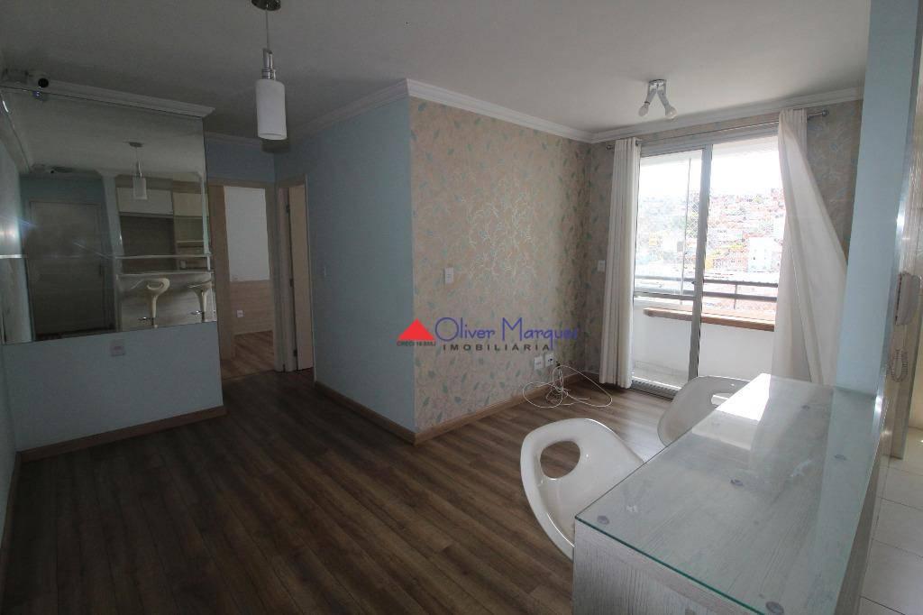 Apartamento com 2 dormitórios à venda, 50 m² por R$ 225.000 - Cidade Ariston Estela Azevedo - Carapicuíba/SP
