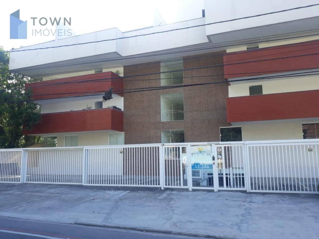 Flat com 1 dormitório para alugar, 40 m² por R$ 1.300/mês - Itacoatiara - Niterói/RJ